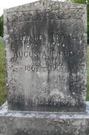 TRIVAL, AUGUSTA - Albany County, New York | AUGUSTA TRIVAL - New York Gravestone Photos