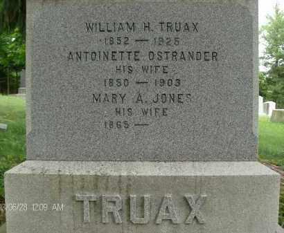 OSTRANDER, ANTOINETTE - Albany County, New York   ANTOINETTE OSTRANDER - New York Gravestone Photos
