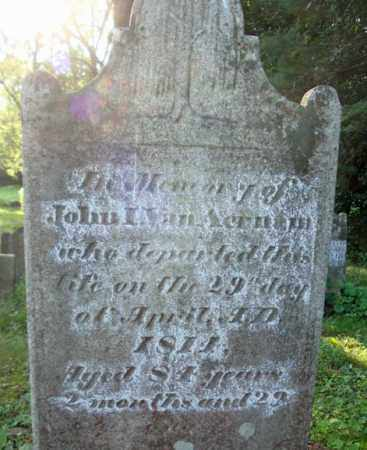 VAN AERNAM, JOHN I - Albany County, New York | JOHN I VAN AERNAM - New York Gravestone Photos
