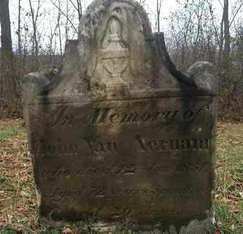 VAN AERNAM, JOHN - Albany County, New York | JOHN VAN AERNAM - New York Gravestone Photos