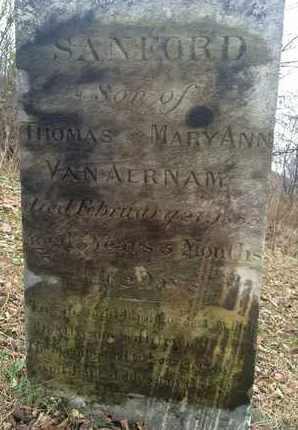 VAN AERNAM, SANFORD - Albany County, New York | SANFORD VAN AERNAM - New York Gravestone Photos