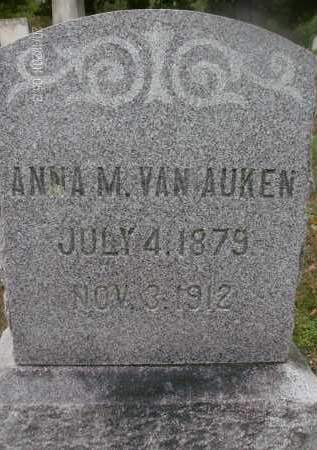 VAN AUKEN, ANNA M - Albany County, New York | ANNA M VAN AUKEN - New York Gravestone Photos