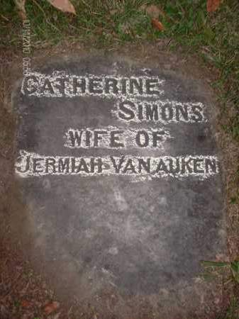 VAN AUKEN, CATHERINE - Albany County, New York | CATHERINE VAN AUKEN - New York Gravestone Photos