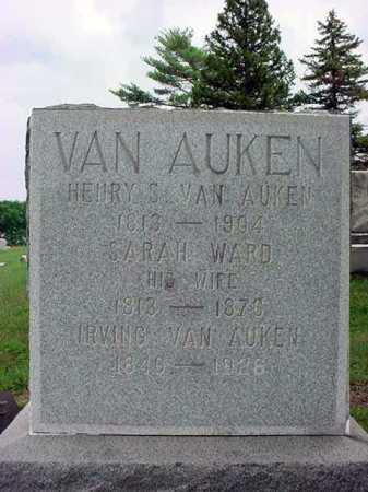 VAN AUKEN, IRVING - Albany County, New York | IRVING VAN AUKEN - New York Gravestone Photos