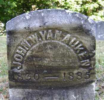 VAN AUKEN, JOHN W - Albany County, New York | JOHN W VAN AUKEN - New York Gravestone Photos