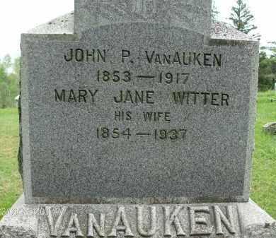 VAN AUKEN, JOHN P - Albany County, New York | JOHN P VAN AUKEN - New York Gravestone Photos