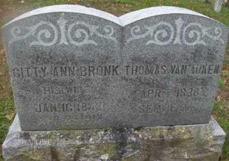 VAN AUKEN, THOMAS - Albany County, New York   THOMAS VAN AUKEN - New York Gravestone Photos