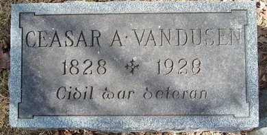 VAN DUSEN, CEASAR A - Albany County, New York | CEASAR A VAN DUSEN - New York Gravestone Photos