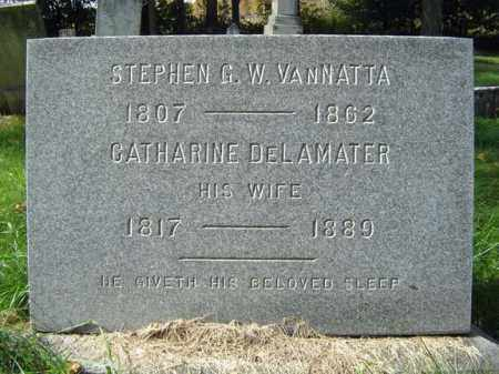 DE LAMATER, CATHARINE - Albany County, New York | CATHARINE DE LAMATER - New York Gravestone Photos