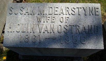 DEARSTYNE VAN OSTRAND, SUSAN M - Albany County, New York | SUSAN M DEARSTYNE VAN OSTRAND - New York Gravestone Photos