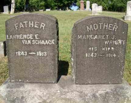 VAN SCHAACK, MARGARET J - Albany County, New York | MARGARET J VAN SCHAACK - New York Gravestone Photos