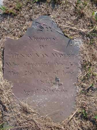 VAN WOERT, HENRY - Albany County, New York | HENRY VAN WOERT - New York Gravestone Photos