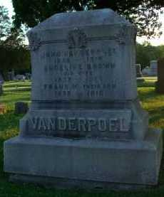 VANDERPOEL, ANGELINE - Albany County, New York | ANGELINE VANDERPOEL - New York Gravestone Photos