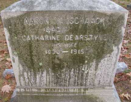 VAN SCHAACK, CATHARINE - Albany County, New York | CATHARINE VAN SCHAACK - New York Gravestone Photos