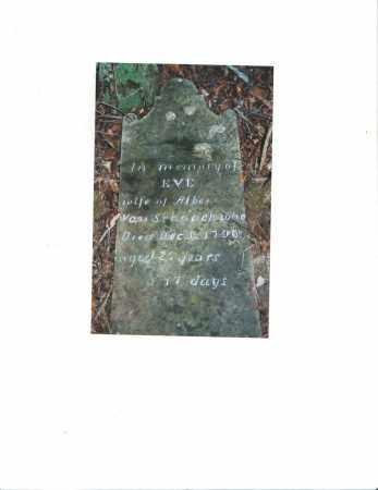 VAN SCHAACK, EVE - Albany County, New York   EVE VAN SCHAACK - New York Gravestone Photos