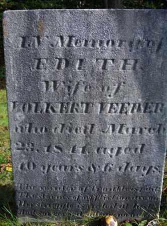 VEEDER, EDITH - Albany County, New York | EDITH VEEDER - New York Gravestone Photos