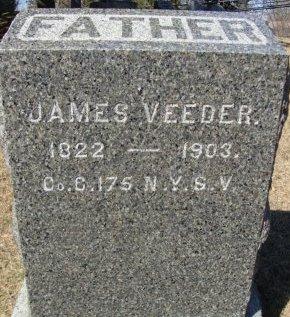 VEEDER, JAMES - Albany County, New York | JAMES VEEDER - New York Gravestone Photos