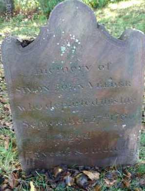 VEEDER, SIMON JOHN - Albany County, New York | SIMON JOHN VEEDER - New York Gravestone Photos