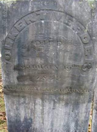 VEEDER, VOLKERT - Albany County, New York | VOLKERT VEEDER - New York Gravestone Photos
