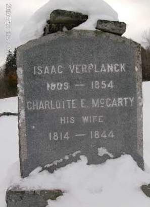 MCCARTY VERPLANCK, CHARLOTTE E - Albany County, New York | CHARLOTTE E MCCARTY VERPLANCK - New York Gravestone Photos