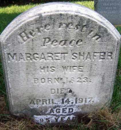 SHAFER, MARGARET - Albany County, New York | MARGARET SHAFER - New York Gravestone Photos
