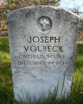 VOLBECK, JOSEPH - Albany County, New York | JOSEPH VOLBECK - New York Gravestone Photos