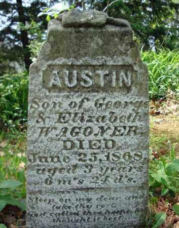 WAGONER, AUSTIN - Albany County, New York | AUSTIN WAGONER - New York Gravestone Photos