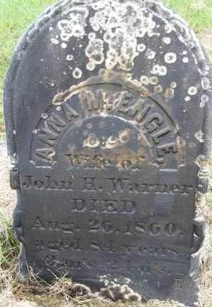 WARNER, ANNA M - Albany County, New York | ANNA M WARNER - New York Gravestone Photos