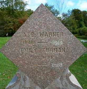 WARNER, ABRAM D - Albany County, New York | ABRAM D WARNER - New York Gravestone Photos