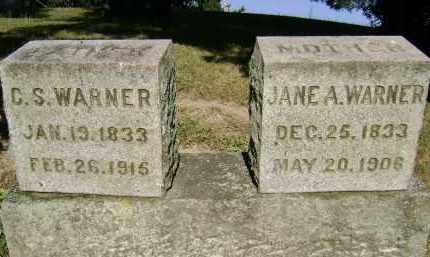 WARNER, JANE A - Albany County, New York | JANE A WARNER - New York Gravestone Photos