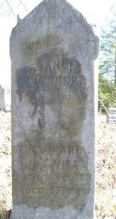 WARNER, TINA MARIA - Albany County, New York | TINA MARIA WARNER - New York Gravestone Photos