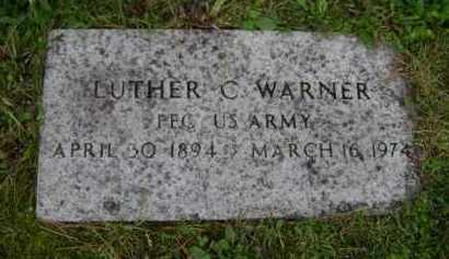 WARNER, LUTHER C - Albany County, New York | LUTHER C WARNER - New York Gravestone Photos