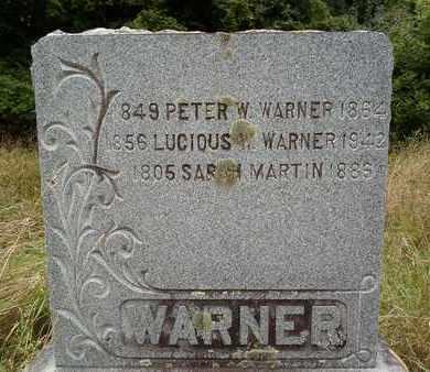 WARNER, LUCIOUS W - Albany County, New York | LUCIOUS W WARNER - New York Gravestone Photos