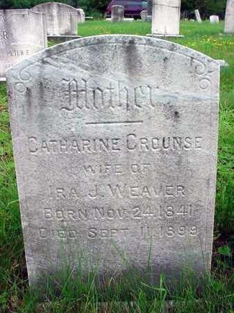 CROUNSE, CATHARINE - Albany County, New York | CATHARINE CROUNSE - New York Gravestone Photos