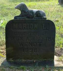 WENDT, MARION L - Albany County, New York | MARION L WENDT - New York Gravestone Photos