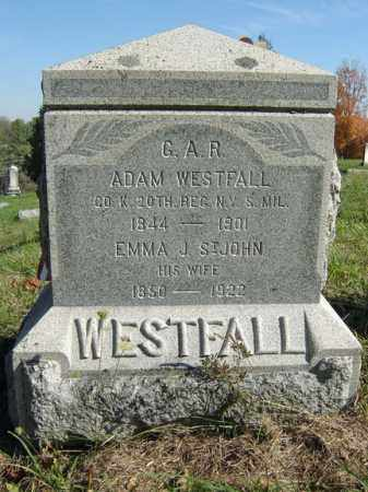 WESTFALL, EMMA J - Albany County, New York | EMMA J WESTFALL - New York Gravestone Photos