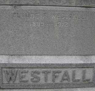 WESTFALL, CLAUDE R - Albany County, New York | CLAUDE R WESTFALL - New York Gravestone Photos