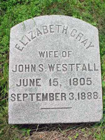 WESTFALL, ELIZABETH - Albany County, New York | ELIZABETH WESTFALL - New York Gravestone Photos