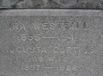 WESTFALL, IRA - Albany County, New York | IRA WESTFALL - New York Gravestone Photos