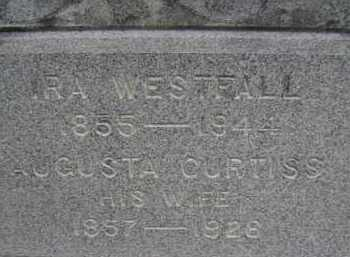WESTFALL, AUGUSTA - Albany County, New York | AUGUSTA WESTFALL - New York Gravestone Photos