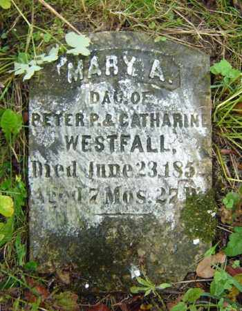 WESTFALL, MARY A - Albany County, New York | MARY A WESTFALL - New York Gravestone Photos