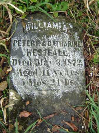 WESTFALL, WILLIAM A - Albany County, New York | WILLIAM A WESTFALL - New York Gravestone Photos