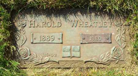 WHEATLEY, HAROLD - Albany County, New York | HAROLD WHEATLEY - New York Gravestone Photos