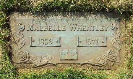 MULLER WHEATLEY, MAEBELLE - Albany County, New York | MAEBELLE MULLER WHEATLEY - New York Gravestone Photos