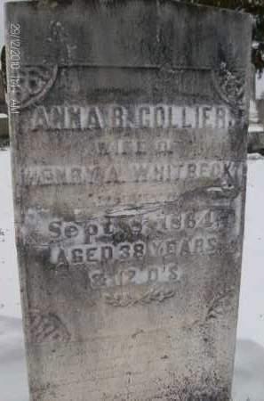 COLLIER, ANNA - Albany County, New York | ANNA COLLIER - New York Gravestone Photos