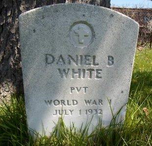 WHITE, DANIEL B - Albany County, New York | DANIEL B WHITE - New York Gravestone Photos