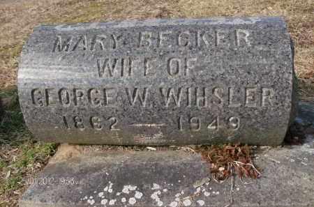 BECKER, MARY - Albany County, New York | MARY BECKER - New York Gravestone Photos