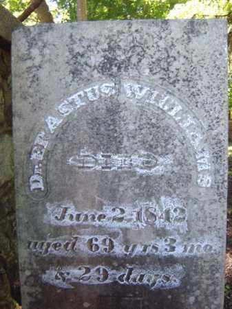WILLIAMS, ERASTUS - Albany County, New York | ERASTUS WILLIAMS - New York Gravestone Photos