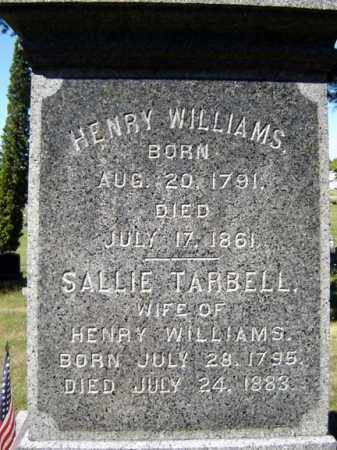 WILLIAMS, SALLIE - Albany County, New York | SALLIE WILLIAMS - New York Gravestone Photos