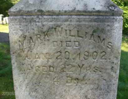 WILLIAMS, MARK - Albany County, New York | MARK WILLIAMS - New York Gravestone Photos